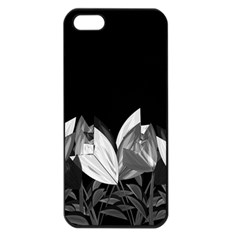 Tulips Apple Iphone 5 Seamless Case (black) by ValentinaDesign