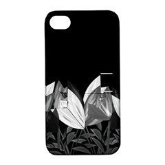 Tulips Apple Iphone 4/4s Hardshell Case With Stand by ValentinaDesign