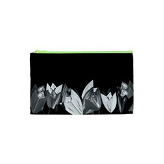 Tulips Cosmetic Bag (xs) by ValentinaDesign