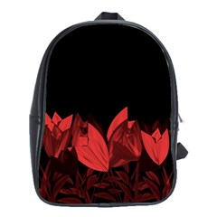 Tulips School Bags (xl)  by ValentinaDesign