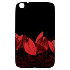 Tulips Samsung Galaxy Tab 3 (8 ) T3100 Hardshell Case  by ValentinaDesign