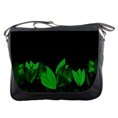 Tulips Messenger Bags by ValentinaDesign