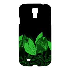 Tulips Samsung Galaxy S4 I9500/i9505 Hardshell Case by ValentinaDesign