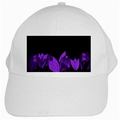 Tulips White Cap by ValentinaDesign