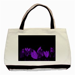 Tulips Basic Tote Bag (two Sides) by ValentinaDesign