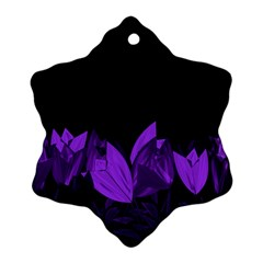 Tulips Ornament (snowflake) by ValentinaDesign