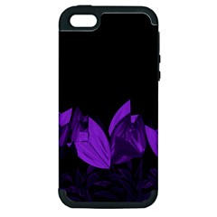 Tulips Apple Iphone 5 Hardshell Case (pc+silicone) by ValentinaDesign