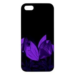 Tulips Apple Iphone 5 Premium Hardshell Case by ValentinaDesign