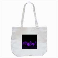 Tulips Tote Bag (white) by ValentinaDesign