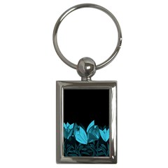 Tulips Key Chains (rectangle)  by ValentinaDesign