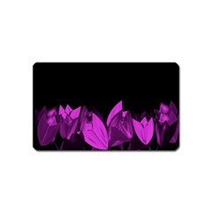 Tulips Magnet (name Card) by ValentinaDesign