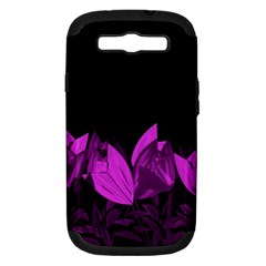 Tulips Samsung Galaxy S Iii Hardshell Case (pc+silicone) by ValentinaDesign