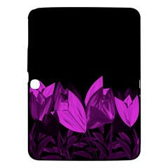 Tulips Samsung Galaxy Tab 3 (10 1 ) P5200 Hardshell Case  by ValentinaDesign