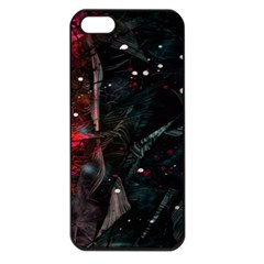 Abstract Design Apple Iphone 5 Seamless Case (black) by ValentinaDesign