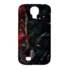 Abstract Design Samsung Galaxy S4 Classic Hardshell Case (pc+silicone) by ValentinaDesign