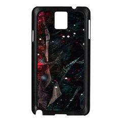 Abstract Design Samsung Galaxy Note 3 N9005 Case (black) by ValentinaDesign