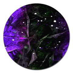 Abstract Design Magnet 5  (round) by ValentinaDesign