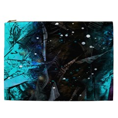 Abstract Design Cosmetic Bag (xxl)  by ValentinaDesign