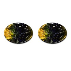 Abstract Design Cufflinks (oval) by ValentinaDesign