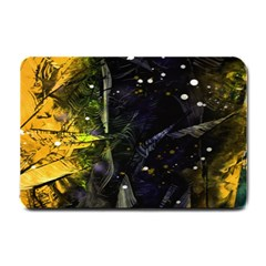 Abstract Design Small Doormat  by ValentinaDesign