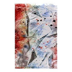 Abstract Design Shower Curtain 48  X 72  (small)  by ValentinaDesign