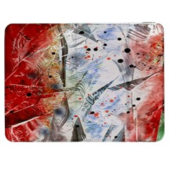Abstract Design Samsung Galaxy Tab 7  P1000 Flip Case by ValentinaDesign