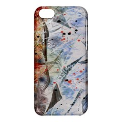 Abstract Design Apple Iphone 5c Hardshell Case by ValentinaDesign
