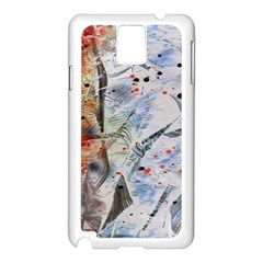 Abstract Design Samsung Galaxy Note 3 N9005 Case (white) by ValentinaDesign