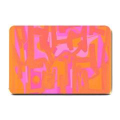 Abstract Art Small Doormat  by ValentinaDesign