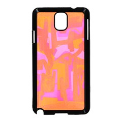 Abstract art Samsung Galaxy Note 3 Neo Hardshell Case (Black)