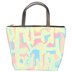 Abstract Art Bucket Bags by ValentinaDesign