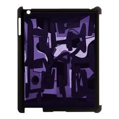 Abstract Art Apple Ipad 3/4 Case (black) by ValentinaDesign