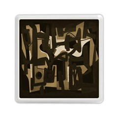 Abstract Art Memory Card Reader (square)  by ValentinaDesign
