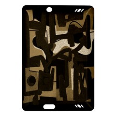 Abstract Art Amazon Kindle Fire Hd (2013) Hardshell Case by ValentinaDesign