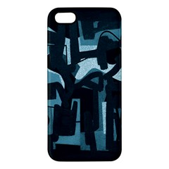 Abstract Art Iphone 5s/ Se Premium Hardshell Case by ValentinaDesign