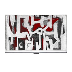 Abstract Art Business Card Holders by ValentinaDesign