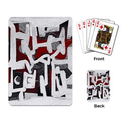 Abstract Art Playing Card by ValentinaDesign