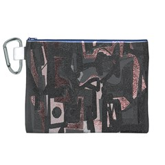Abstract Art Canvas Cosmetic Bag (xl) by ValentinaDesign
