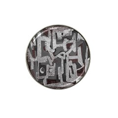 Abstract Art Hat Clip Ball Marker by ValentinaDesign
