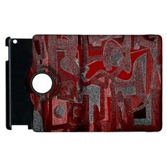 Abstract Art Apple Ipad 3/4 Flip 360 Case by ValentinaDesign