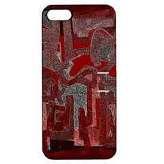 Abstract Art Apple Iphone 5 Hardshell Case With Stand by ValentinaDesign