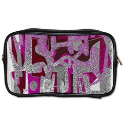 Abstract Art Toiletries Bags by ValentinaDesign