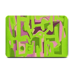 Abstract Art Small Doormat  by ValentinaDesign