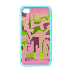 Abstract Art Apple Iphone 4 Case (color) by ValentinaDesign