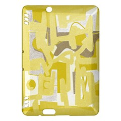 Abstract Art Kindle Fire Hdx Hardshell Case by ValentinaDesign