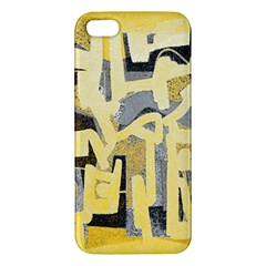 Abstract Art Apple Iphone 5 Premium Hardshell Case by ValentinaDesign