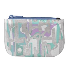 Abstract Art Large Coin Purse by ValentinaDesign