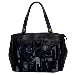 Abstract Art Office Handbags by ValentinaDesign