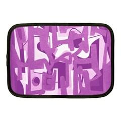 Abstract Art Netbook Case (medium)  by ValentinaDesign