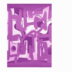 Abstract Art Large Garden Flag (two Sides) by ValentinaDesign
